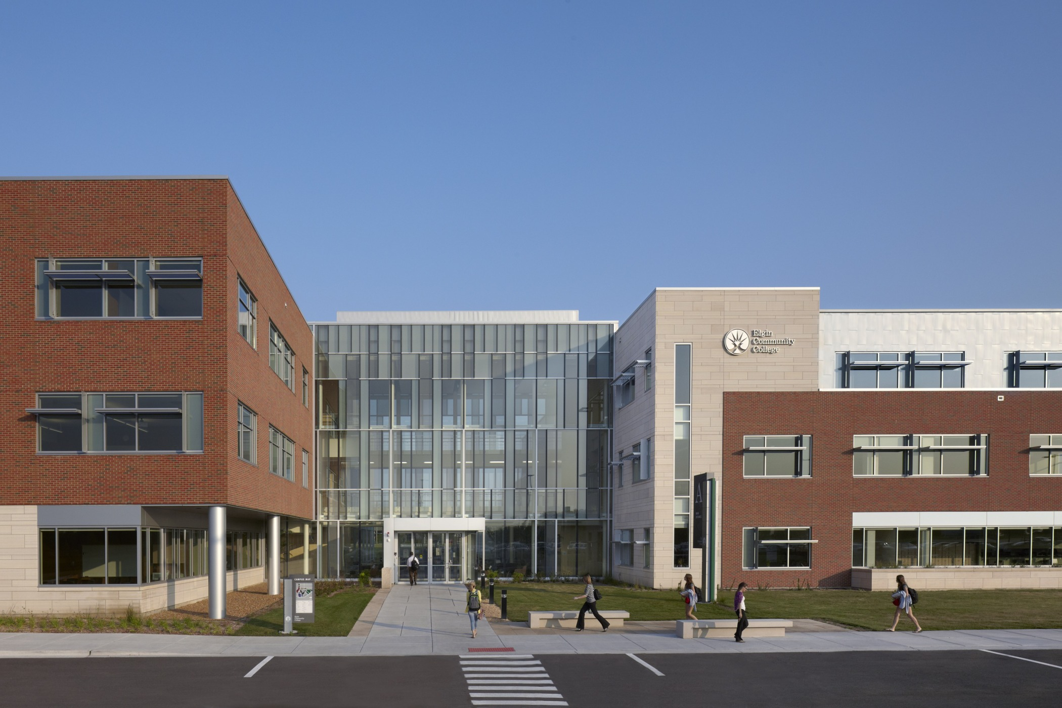 Health And Life Sciences Building At Elgin Community College Awarded
