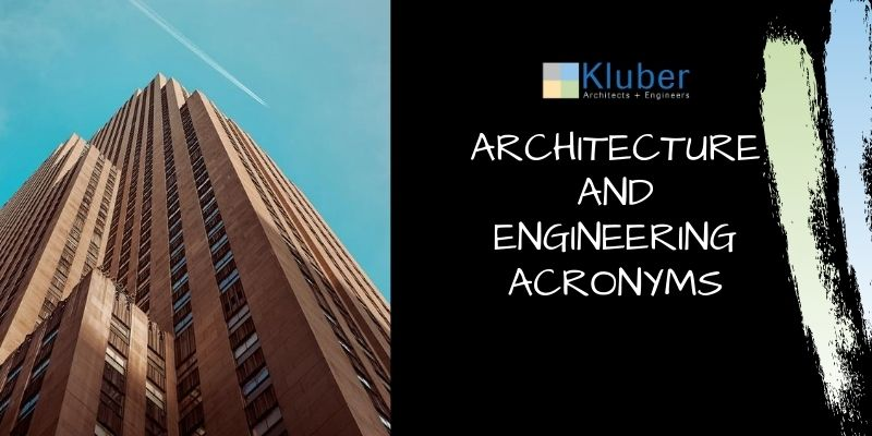 Architecture and Engineering Acronyms