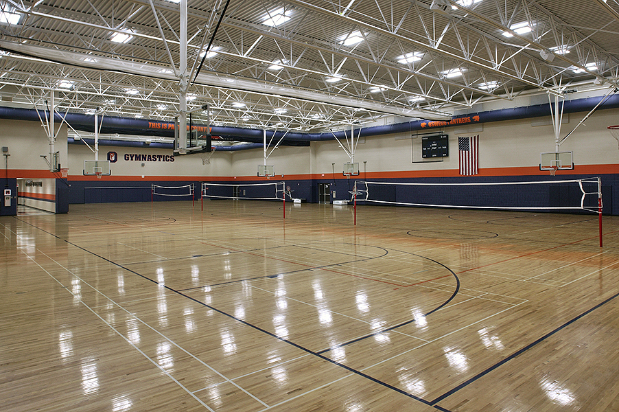 Auxiliary Gym (Overall View)
