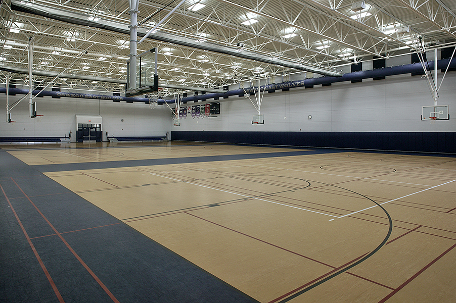 Oswego East Auxiliary Gym (New Gym)
