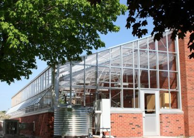 Health and Business Technology Center – Greenhouse