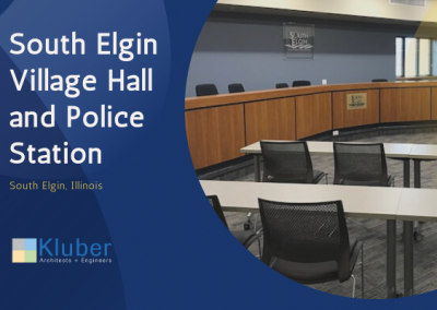South Elgin Village Hall and Police Department Renovations