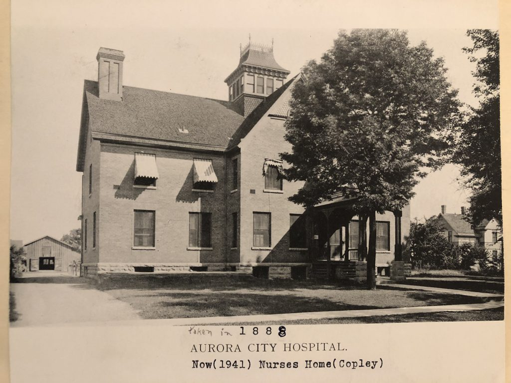 Old Copley Hospital Build Date