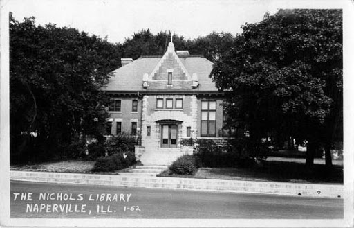 Old Photograph of Nichols Library