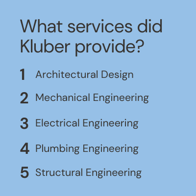 Kluber Architects + Engineers Services for Rosary