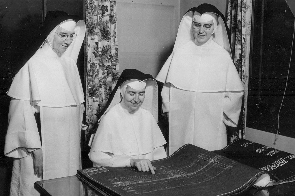 Rosary High School History