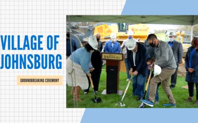 The Village of Johnsburg Breaks Ground on David G. Dominguez Municipal Center Expansion
