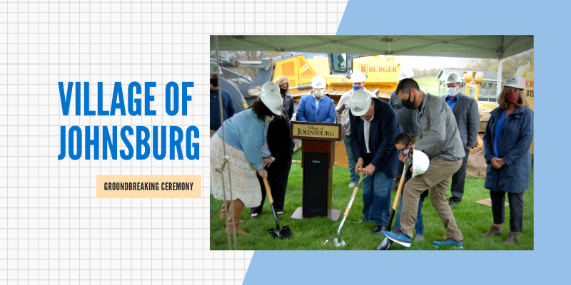 The Village of Johnsburg Breaks Ground on David G. Dominguez Municipal Center Expansion